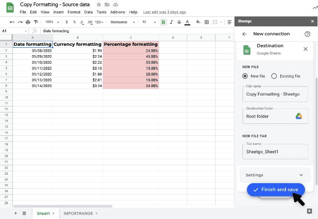 copy formatting google sheets 7
