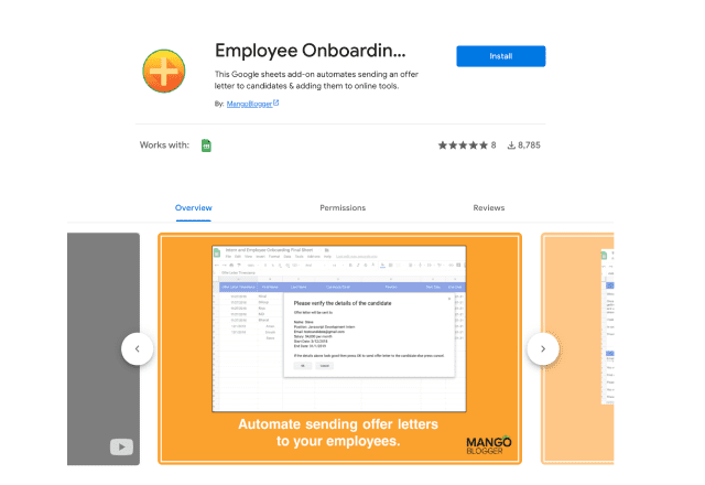 best add-ons for human resources Employee onboarding app