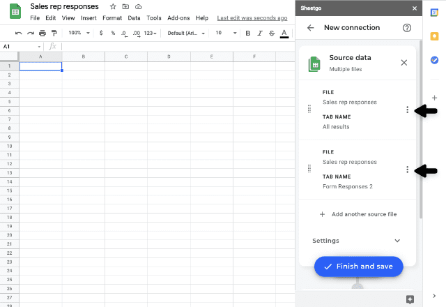 google forms to google sheets 6