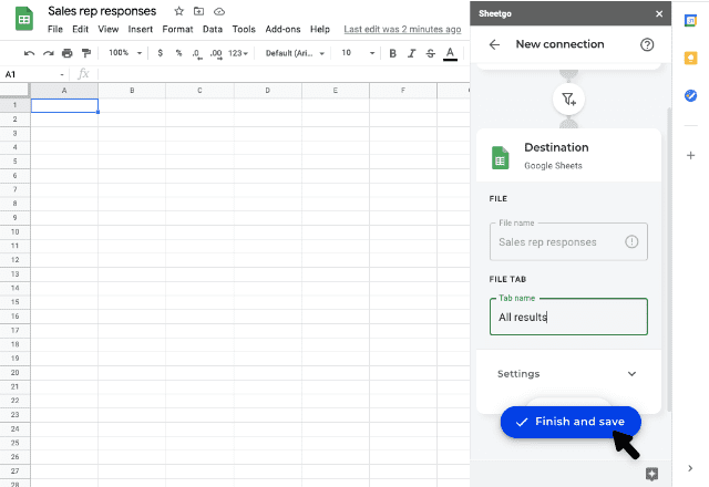 google forms to google sheets 7