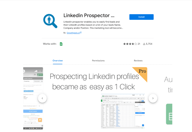 best add-ons for human resources Linkedin Prospector