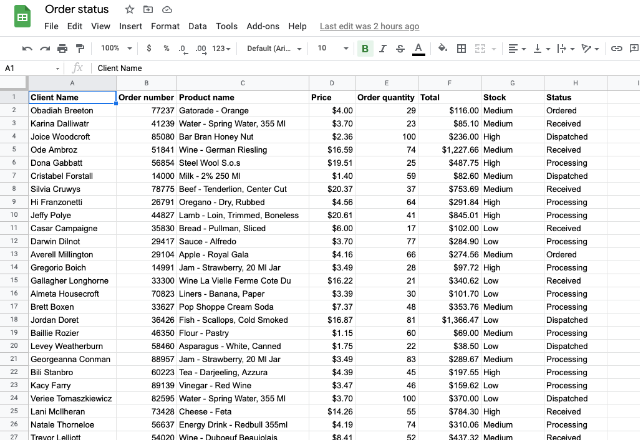 find and replace in Google Sheets 1
