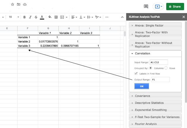 XLMiner Analysis ToolPak 4