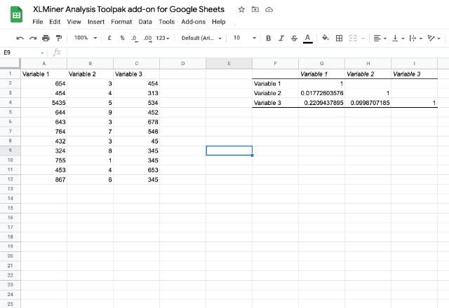 XLMiner Analysis ToolPak 5