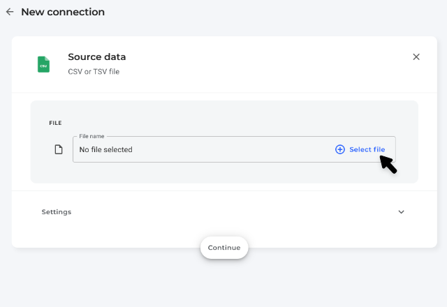 import csv to google sheets 3